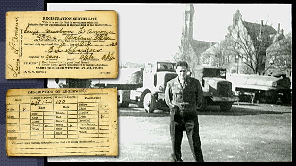 Louis L'Amour trucks draft card